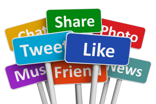 Create social media accounts for your company