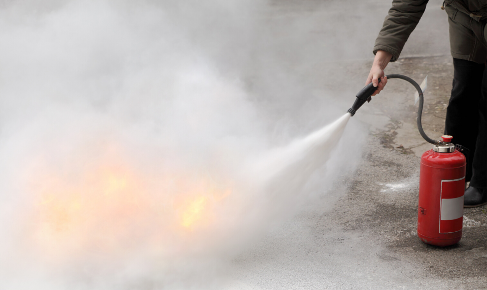 A fire extinguisher can be a lifesaver and is one of the most important components of your fire suppression system.
